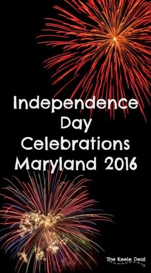 Independence Day Celebrations Maryland 2016