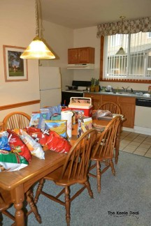 Staying at the Shawnee Village Resort, Pocono Mountains, PA- Kitchen