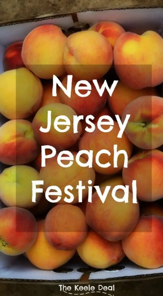 New Jersey Peach Festival -Alstede Farms in Chester, New Jersey hosts a peach festival each year. We went to the peach festival for our second year this past weekend. The festival is a great family activity with plenty of yummy treats and fun family activities.