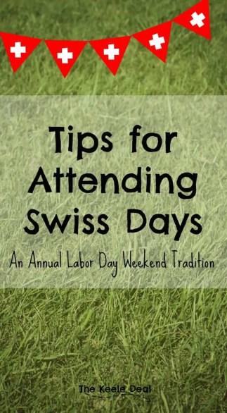 Tips for Attending Swiss Days