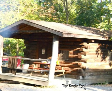 Each time we have visited Knoebels we have stayed in the Cozy Log Cabins at the Knoebels Park Campground. Knoebels also has campsites and cottages near the amusement park.