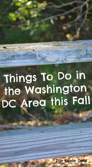 Things to Do in the Washington DC Area this Fall