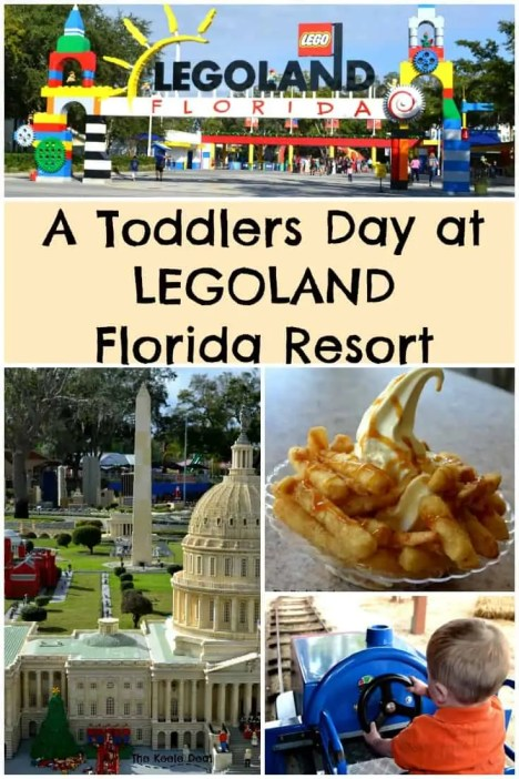 A Toddlers day at Legoland Florida Resort this post includes a sample itinerary for a day at Legoland. In January, we spent the day at LEGOLAND Florida Resort. Our toddler was just 22 months old, I was 9 months pregnant and we had a blast. thekeeledeal.com