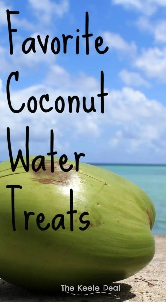 Favorite Coconut Water Treats. Fast and easy cold summer snacks made with Coconut Water and Fresh Fruit. thekeeledeal.com
