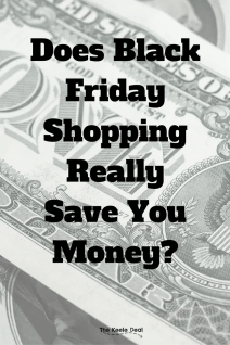 Buying things you don't need on black friday will end up costing you more than regular priced items. thekeeledeal.com #blackfriday #blackfridaytips #shopping #Thanksgiving