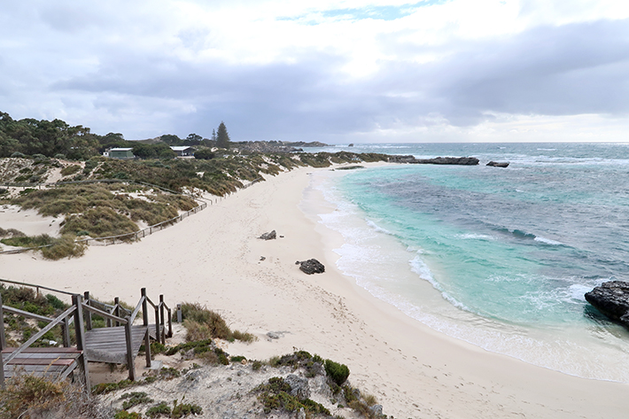 Pinky Beach Rottnest Island