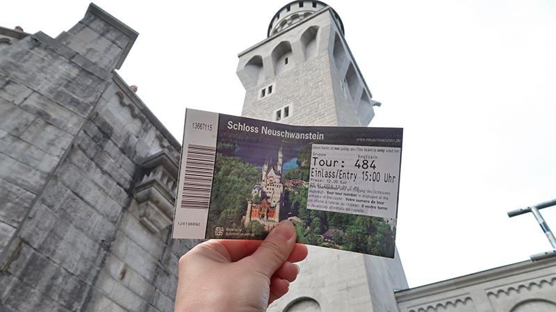 Neuschwanstein Castle Ticket