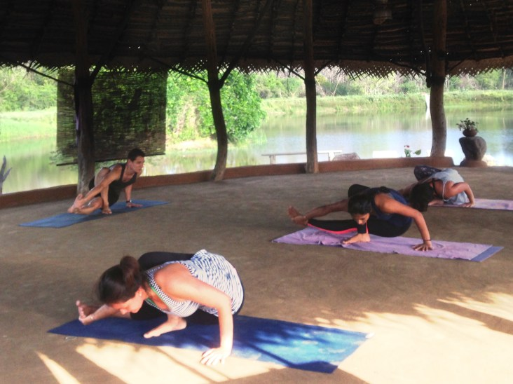 Photos by Routes of Yoga and Rachel Sun