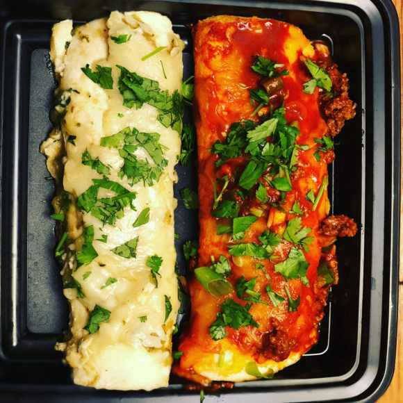 Keto Enchiladas are pretty easy and freeze well.