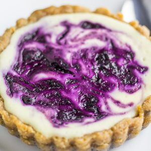 Low Carb Blueberry Cheesecake