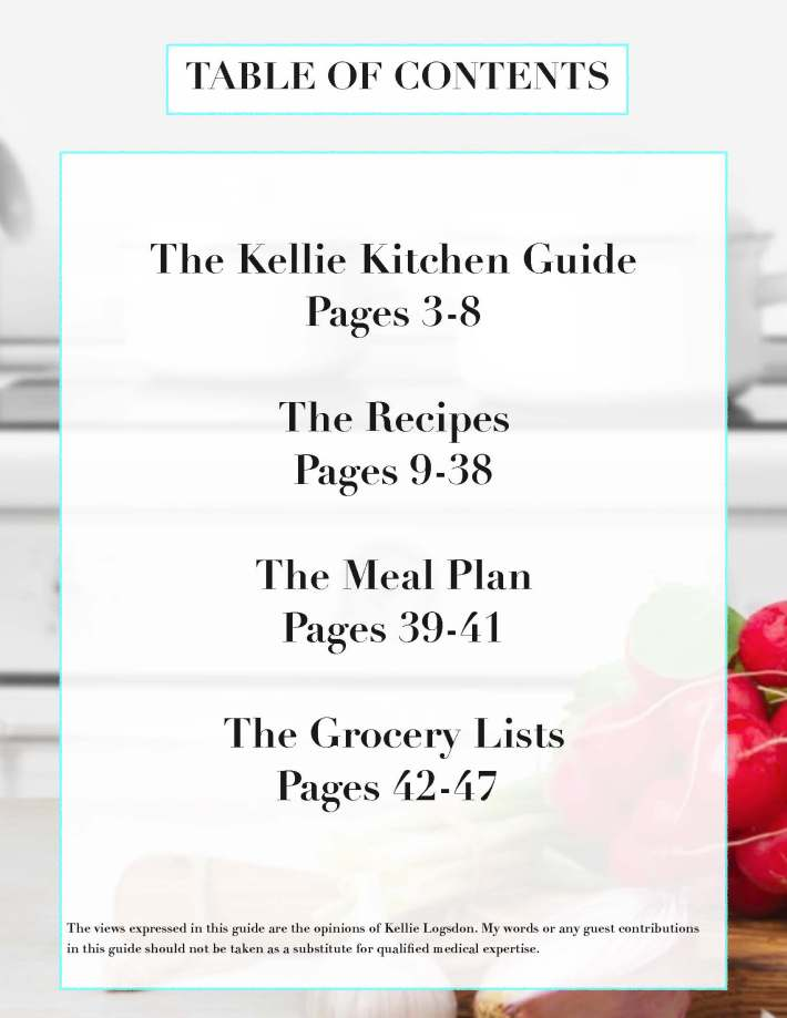 TheKellieKitchen~Quick Start Keto Guide