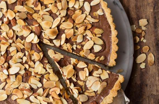 Chocolate Almond Tart
