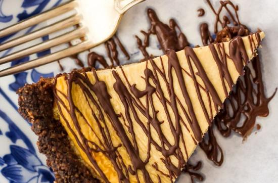 Mocha Cheesecake Pie