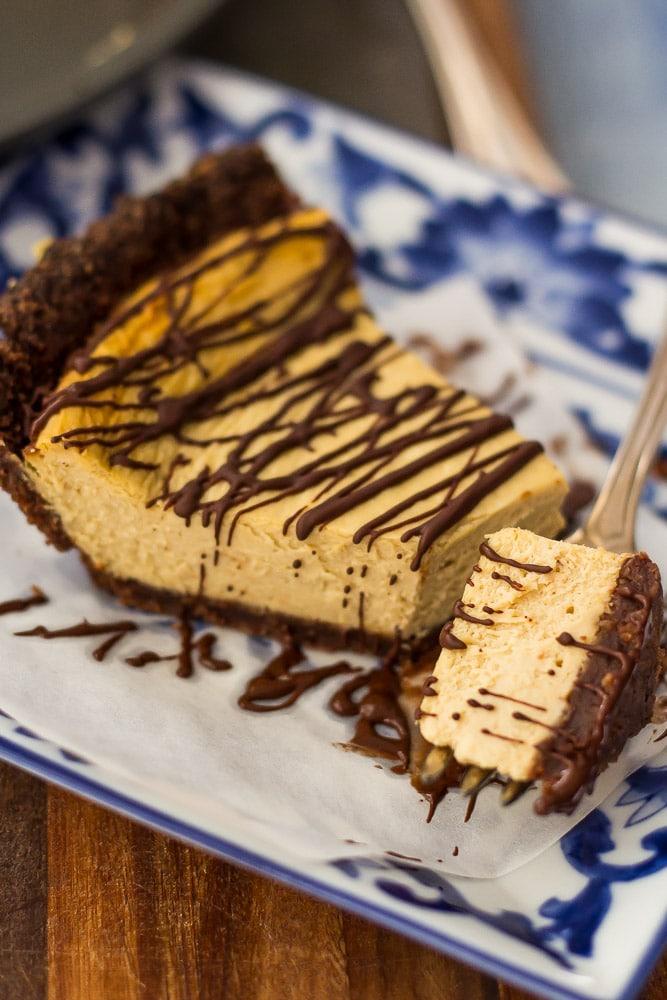 Mocha Cheesecake Pie