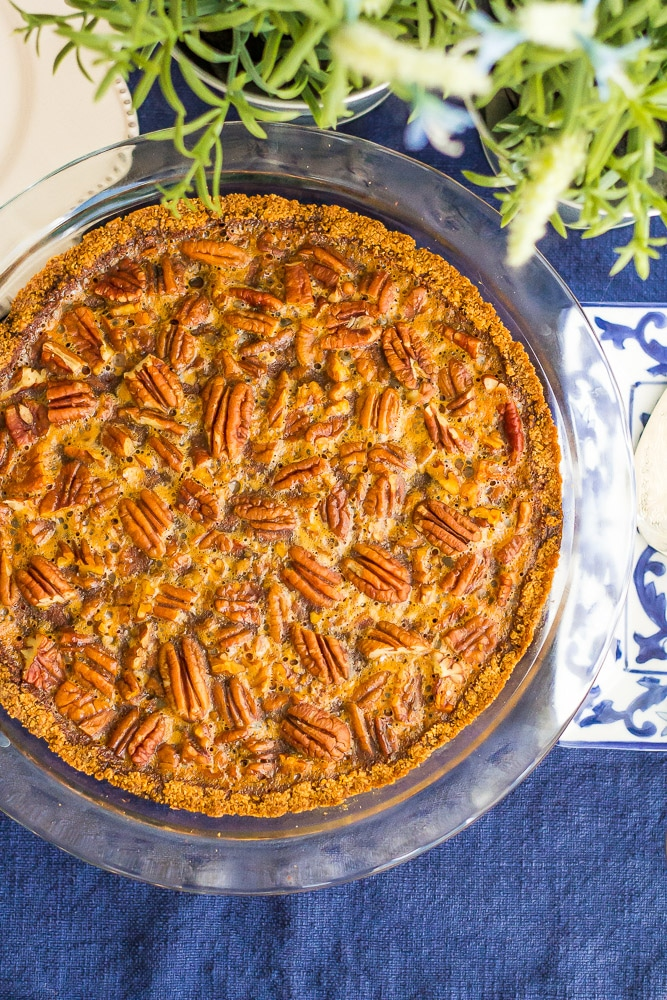 Keto Low Carb Pecan Pie