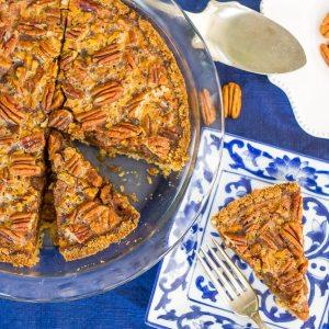 Thanksgiving Low Carb Pecan Pie