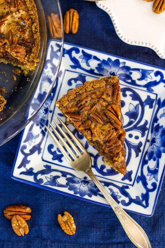 3g net carb per slice Pecan Pie