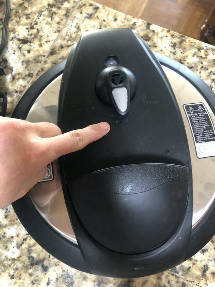 Sealing - Instant Pot set up