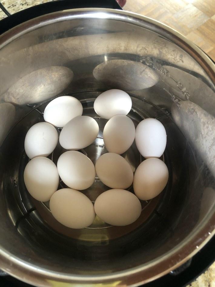 Eggs-Instant Pot