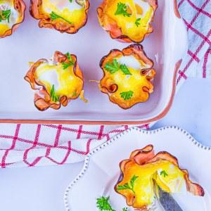 Keto Breakfast Egg Cups