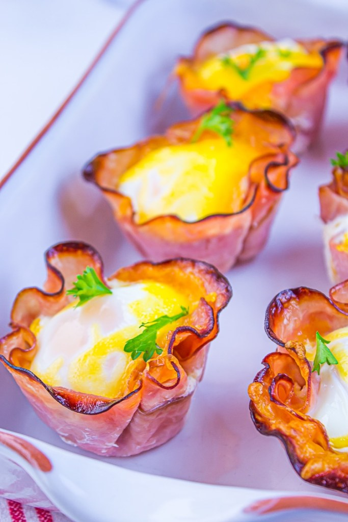 Cheesey Ham and Egg Cups