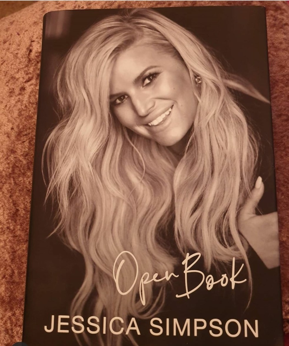 Photo Of Open Book by Jessica Simpson