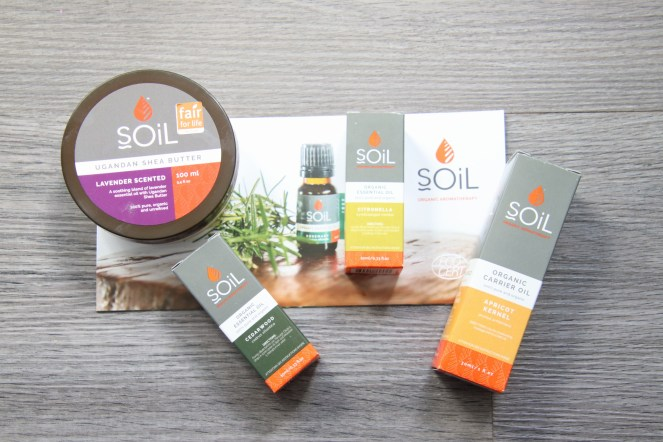 SOiL Essential Oil products