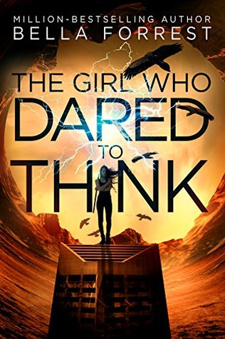 Front cover of The girl who dared to think book.
