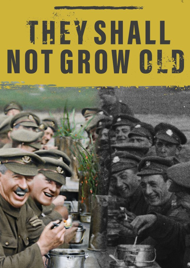 They Shall Not Grow Old film promotional poster