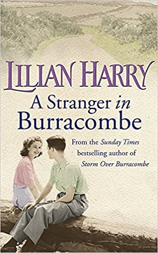 A Stranger In Burracombe Front Cover.