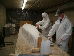 Sanding the Mold