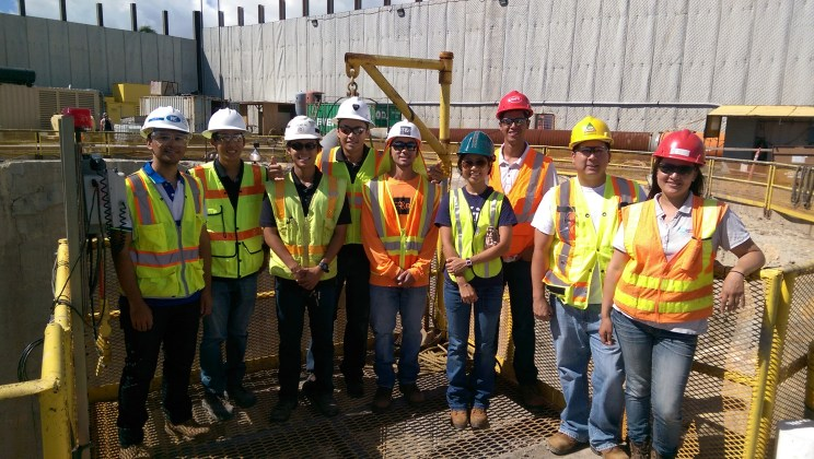 Hawaii YMF visiting the Kailua-Kaneohe Sewer Tunnel construction