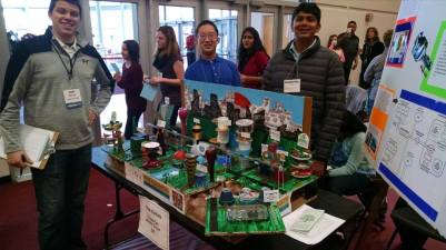 ASCE WISE at the Future Cities Competition (Photo Credit: ASCE WISE YMG)