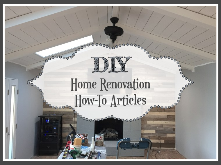 The Kelly Homestead provides how-to articles on DIY home renovations