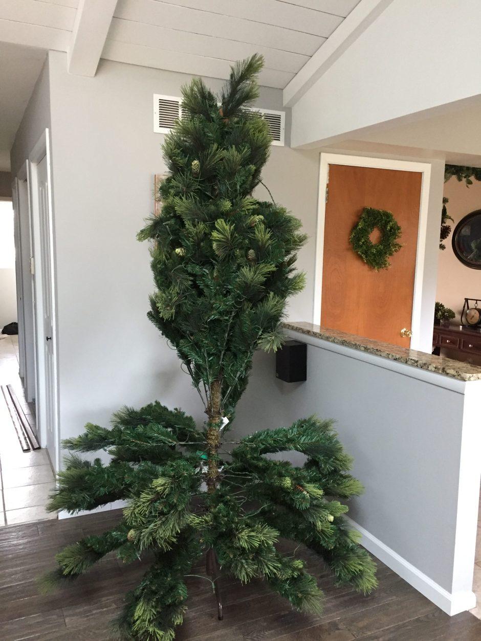 Best Artificial Christmas Tree, Farmhouse Christmas tree, french country christmas tree