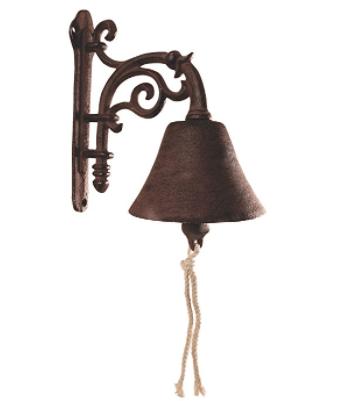 Esschert Design DB40 Cast Iron Decorative Doorbell