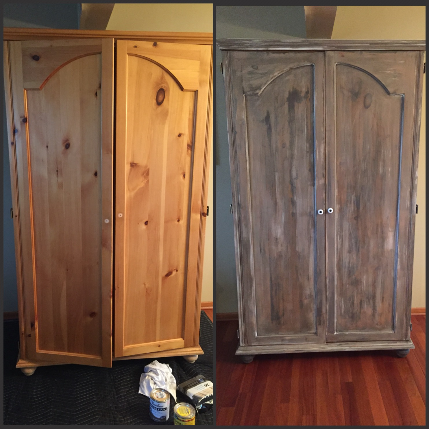 How To Make New Wood Look Old And Distressed The Kelly Homestead