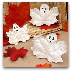 leaf ghosts craft