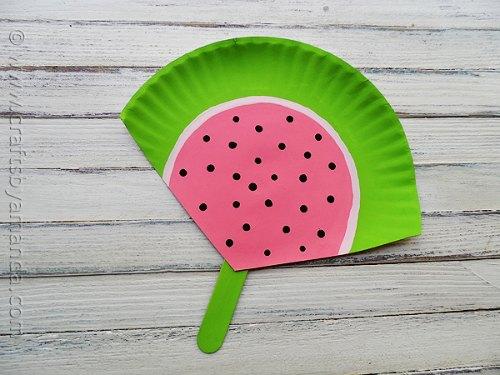 craft for preschool - summer