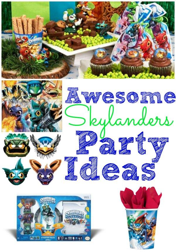 Skylanders Birthday Party Ideas