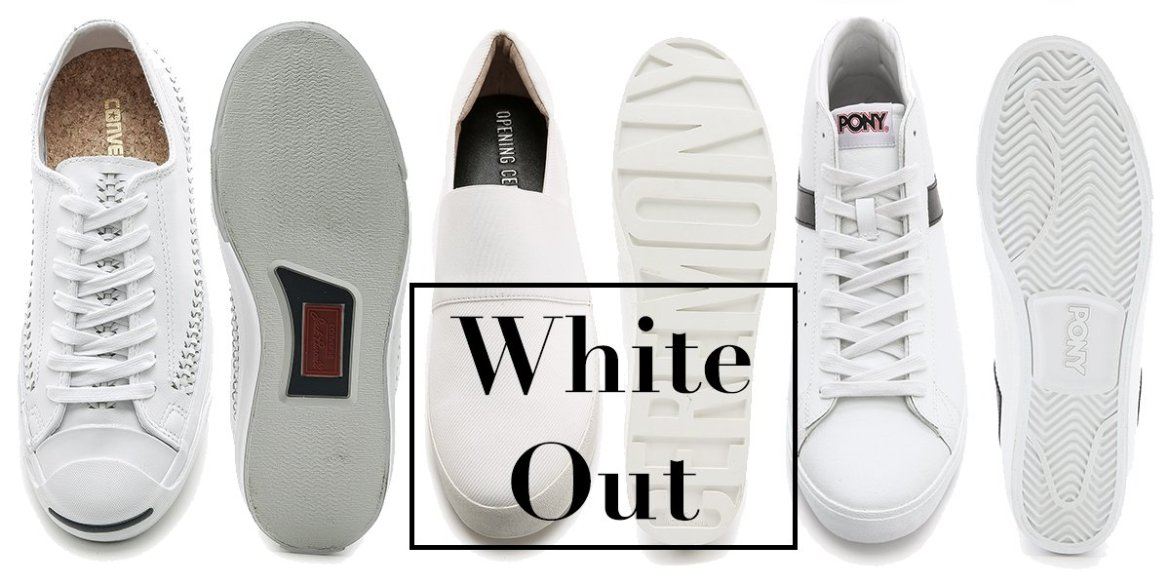 Saturday Shop White Shoes by The Kentucky Gent