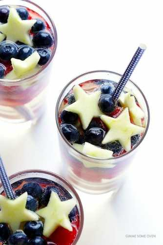 4th of july cocktail, sangria, 4th of july sangria, gimme some oven, cocktail recipes