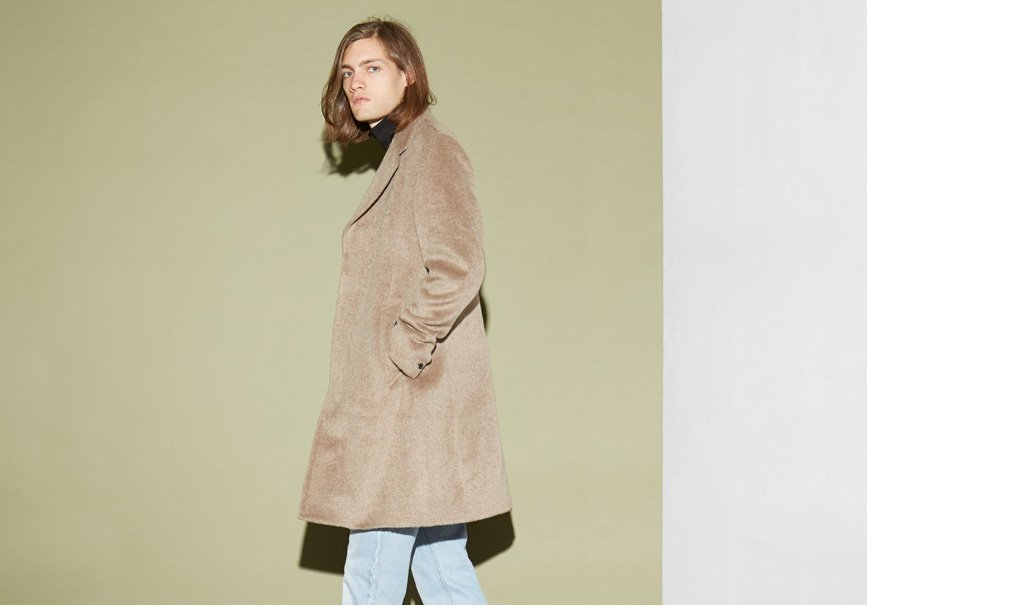 saturday shop, nordstrom, urban outfitters, east dane, camel coat, mens outerwear