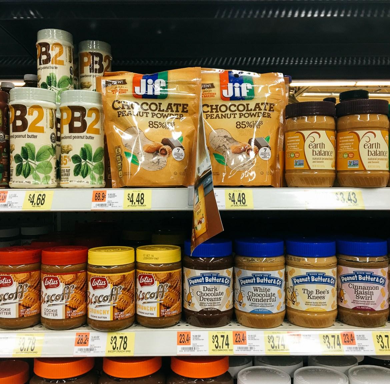 chocolate peanut butter smoothie, jif powder peanut butter, collective bias, peanut butter smoothie recipe