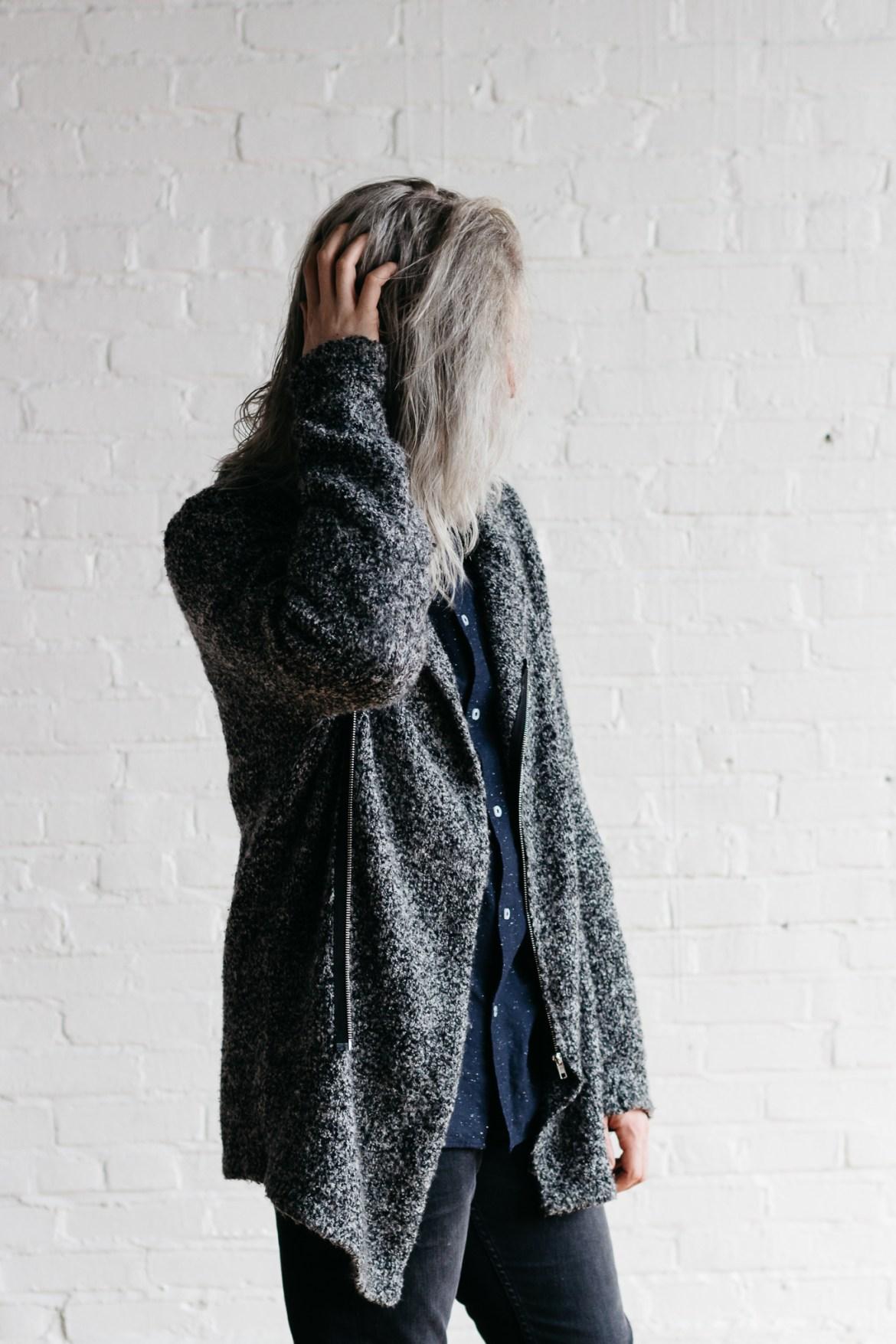 mens hm sweater, mens hm sweater jackets, mens gray hm denim, men with long hair
