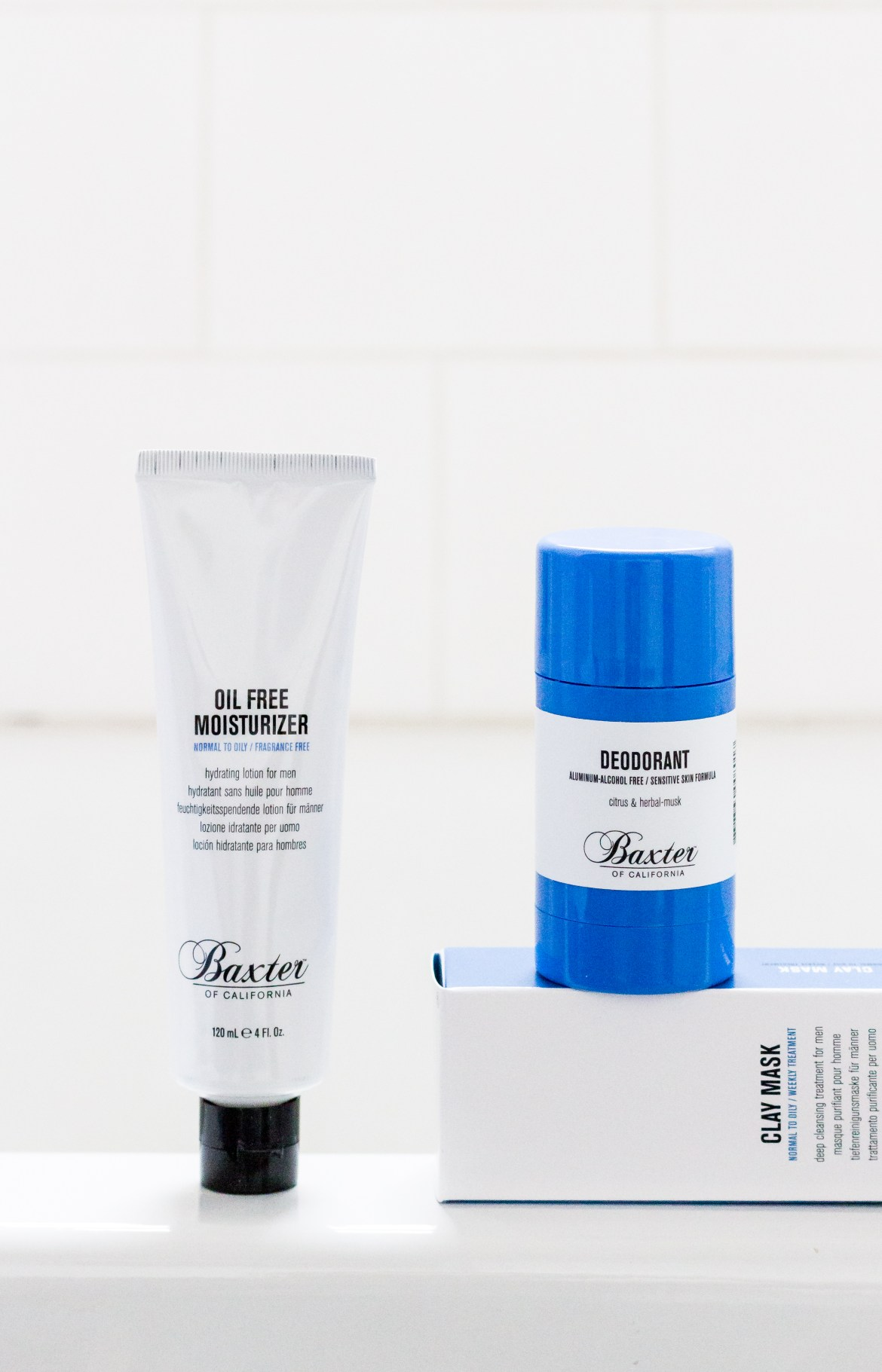 baxter of california, mens grooming, how to update your skincare regime, mens spring skincare