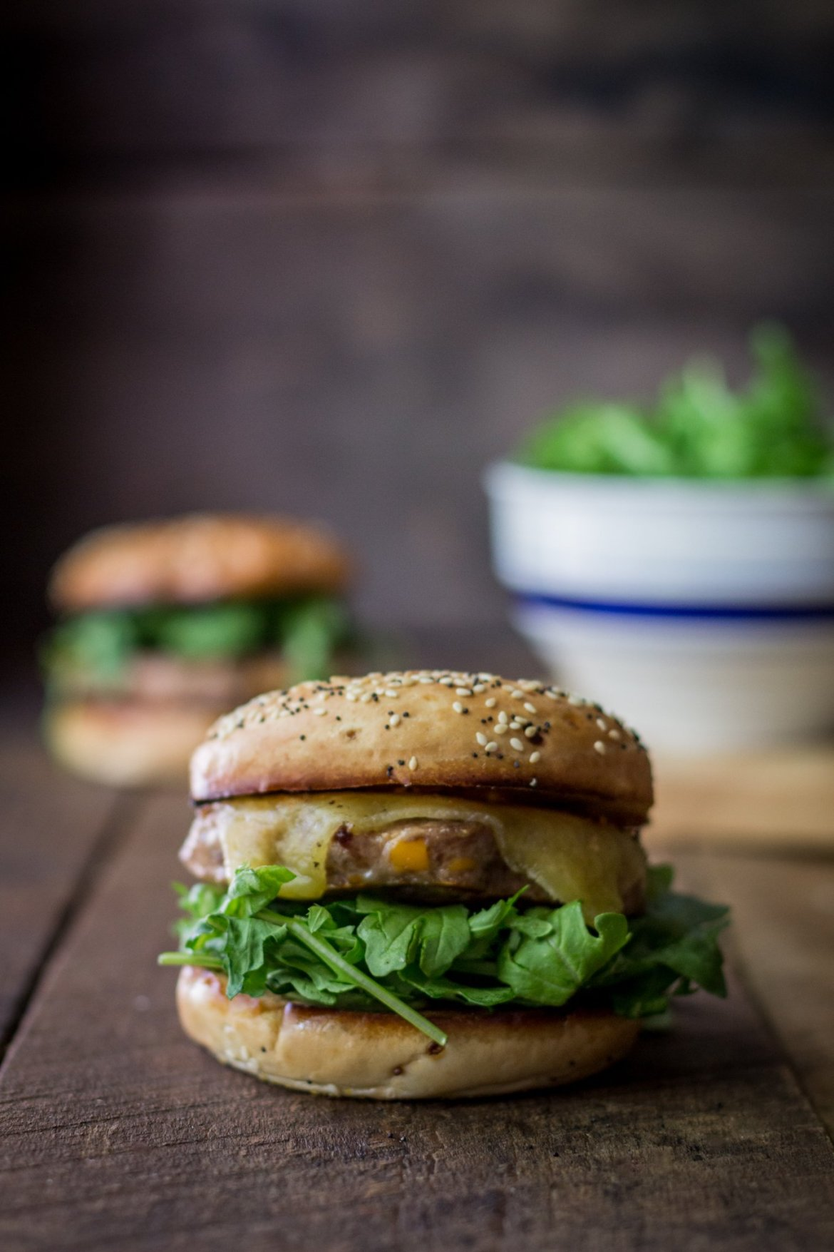 johnsonville sausage, johnsonville grillers, bagel burgers, southern cooking blog, #sausagefamily