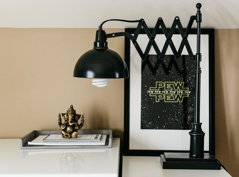 blogger home office, havenly, havenly design services, home office furniture, mens home office
