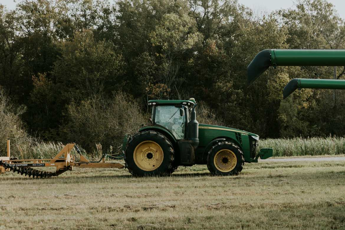 john deer tractor in Louisiana
