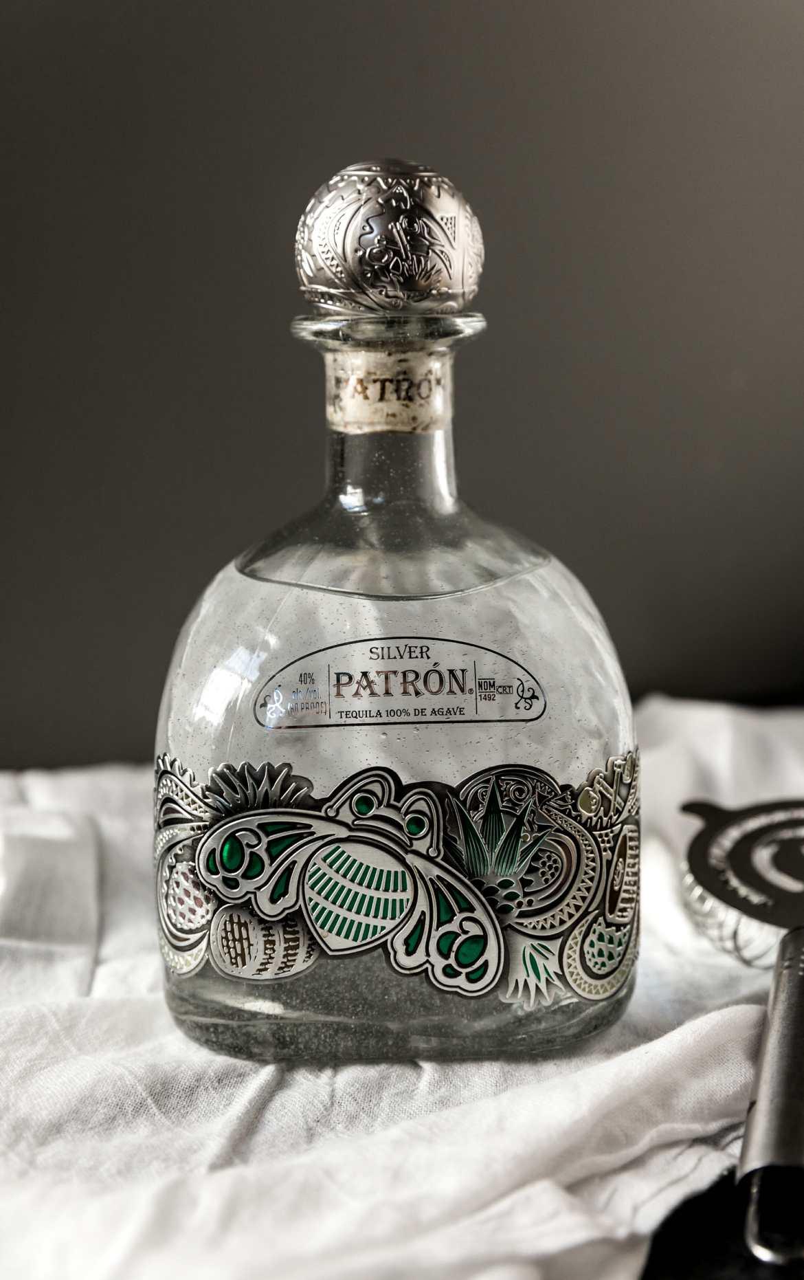 patron holiday bottle